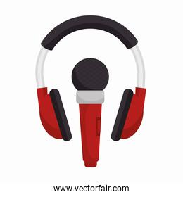 headphone with microphone sound design