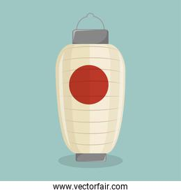 japanese lantern icon design