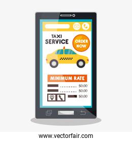 taxi cab service online smartphone