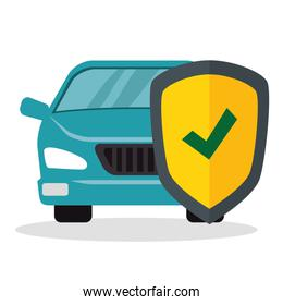 car with shield insurance