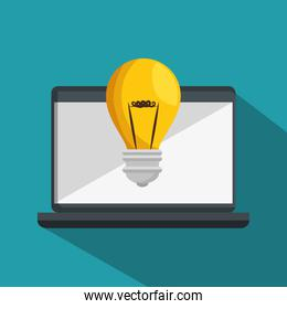 online education isolated icon