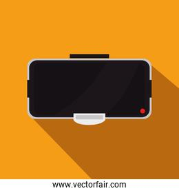 Augmented reality glasses technology icon