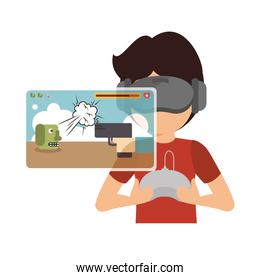 Augmented reality technology icon