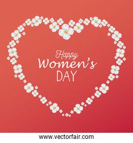 happy womens day card