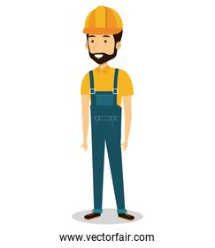 male builder avatar character