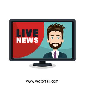 live news video icon