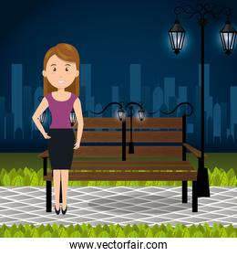 person on the park