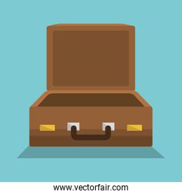 suitcase travel vacations icon