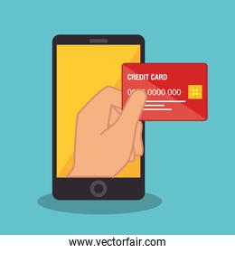 smartphone device electronic commerce