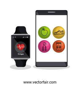 weareable technology with lifestyle app
