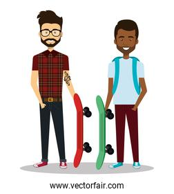 young people style characters