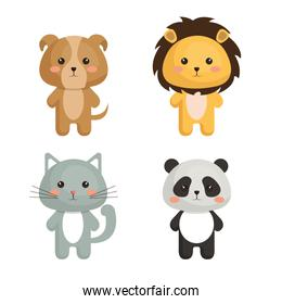 cute and tenders animals