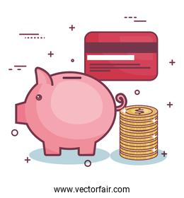 Money-related objects design