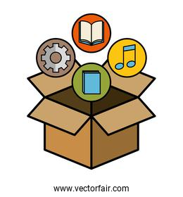 Box and objects design