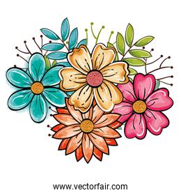 Beautiful flowers design