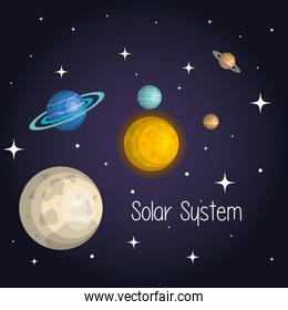 the planets of the solar system space astrology