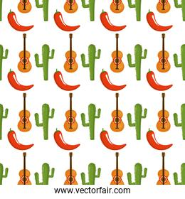 mexican culture pattern background