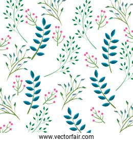 tropical and exotic leafs pattern