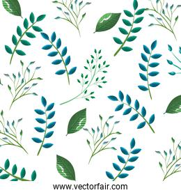 tropical and exotic leafs wallpaper