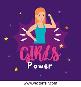 power girl strong character