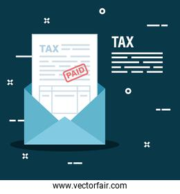 business service tax report in the card