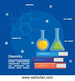 erlenmeyer flask analysis with chemistry books