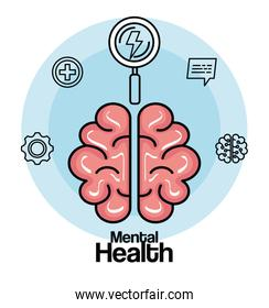 health brain with creative mind and intelligence