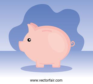 piggy object to save sach money