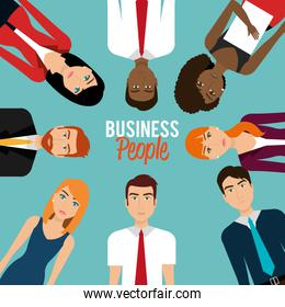 Business people and entrepreneur