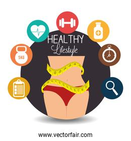 Fitness healthty lifestyle design