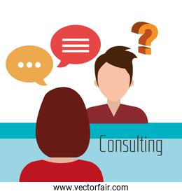 Business consulting design.
