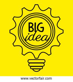 Creative big idea graphic