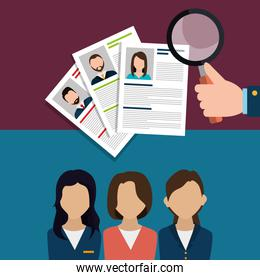 Find person to get a job
