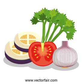 Vegetables healthy food