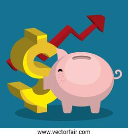 Money and business investment