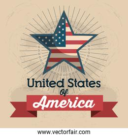 united states of america star icon