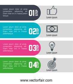 infographic templates business design