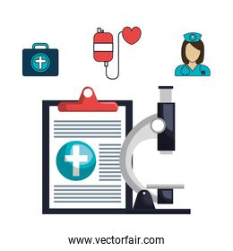set online services medical isolated