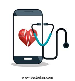 digital healthcare service medical isolated