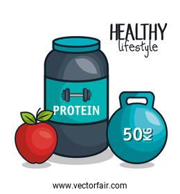 icons healthy lifestyle design