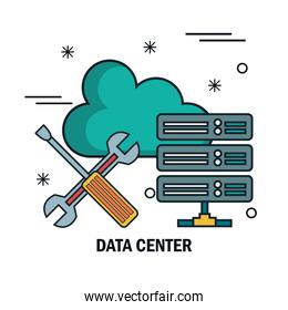 support cloud data center isolated