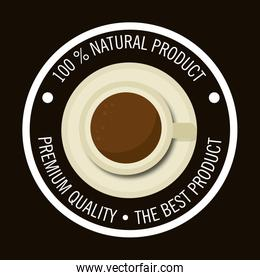 cup coffee product natural graphic