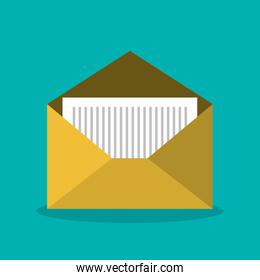 message email envelope icon design