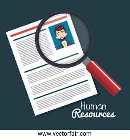 human resources search choose curriculum male
