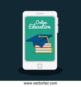 online education isolated icons