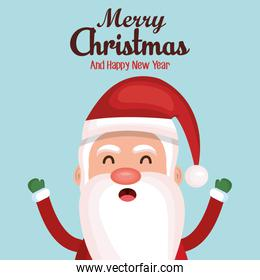 happy merry christmas card