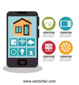 smart home technology icon