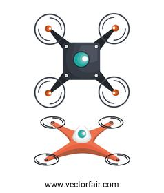 drone technology service icon