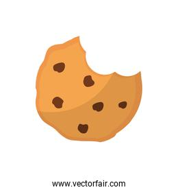 Isolated sweet cookies flat style icon vector design