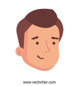 face of man avatar character